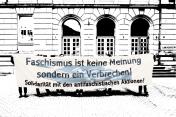 Prozess gegen Antifaschisten am 15.05.2014 in Gießen